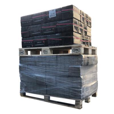 Mixte de briquettes de bois ruf + briquettes de lignite palette (930Kg)