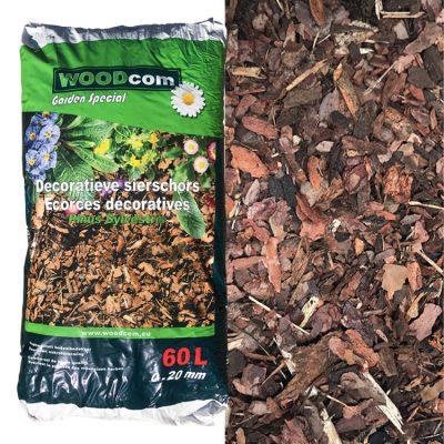 D'écorces Pinus Sylvestris sac (0-20mm) 80L