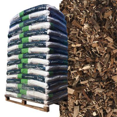 D'écorces Pinus Sylvestris palette