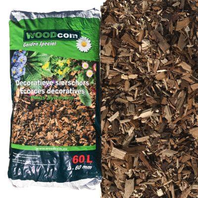 D'écorces Pinus Sylvestris sac (0-60mm) 60L