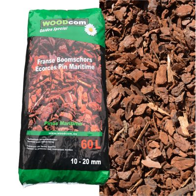 D'écorces Pinus Maritima sac (10-20mm) 60L