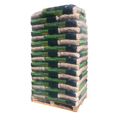 Houtsnippers pallet