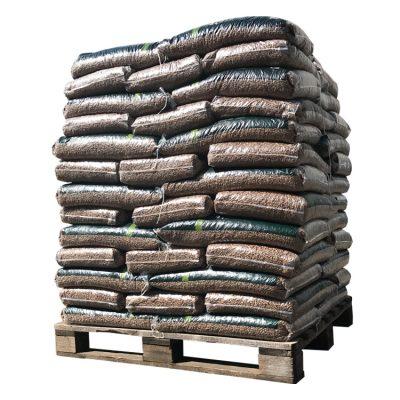 Granulés 100% Chêne palette (960Kg)