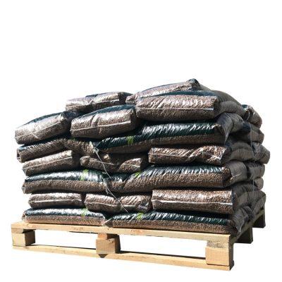 Granulés 100% Chêne demi-palette (480Kg)