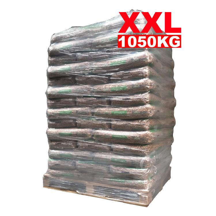 Granulés 100% Premium 100% Pin – EN+A1 palette (1050KG)