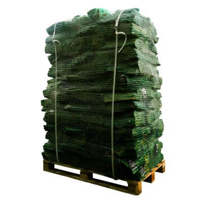 Mix ovendroog netzakken (groene) pallet (+/- 645kg)