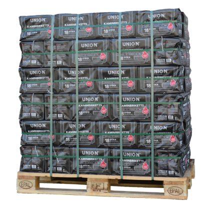 HOTdevil Pallet pak Bruinkoolbriketten (960Kg) - WOODcom