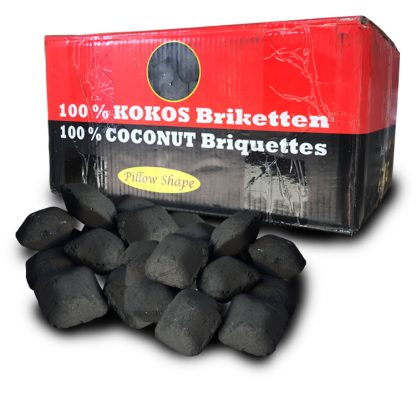 Kokosbriketten Indische Eitjes - WOODcom
