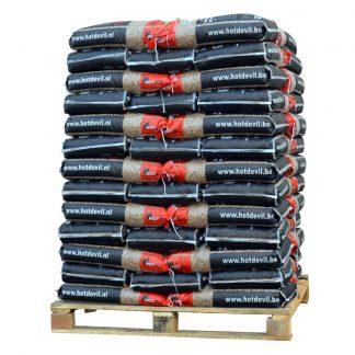 HOTdevil pallet pellets 100% eik WOODcom