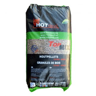 HOTdevil zak pellets Din+ Top Mix - WOODcom