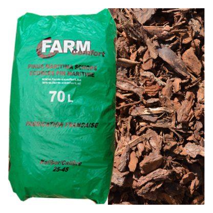 Franse boomschors Pinus Maritima 25/45 zak