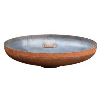WOODcom Vuurschaal gehard staal (bijlevering) HOTdevil