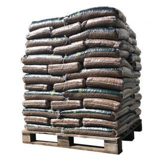 Pallet WOODcom pellets 100% Eik (960Kg)