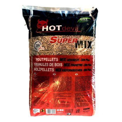 Pellets DIN+ SuperMix zak (15Kg)