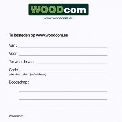 Woodcom cadeaubon binnenkant