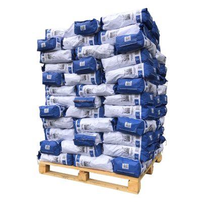 Houtskool White Quebracho mini pallet (150kg)