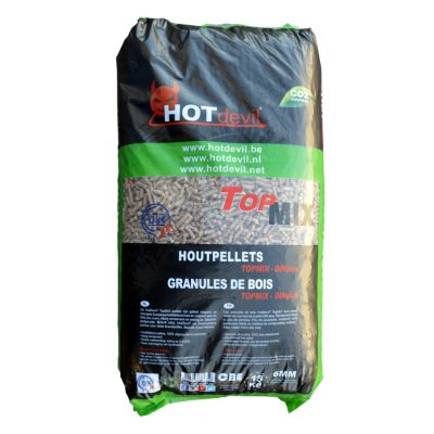 Pellets Din+ Top Mix (15Kg) TESTzak
