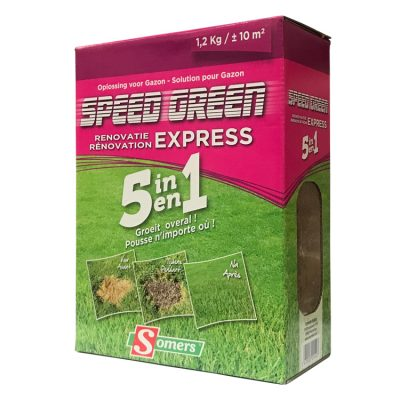 Gazonzaad SPEED green renovatie Doos (1,2Kg)