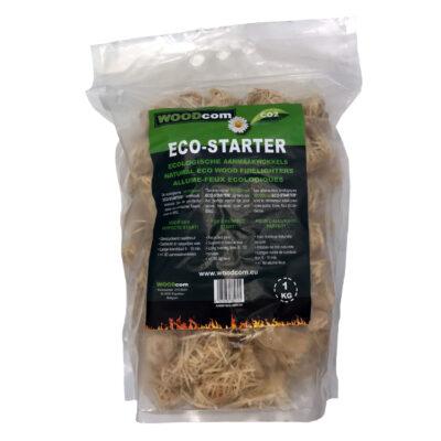 ECO-STARTER aanmaakkrullen zak (1Kg)