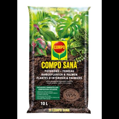 Compo Sana® potgrond kamerplanten & palmen (zak 20L)