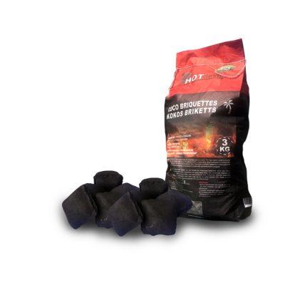 Thaise kokosbriketten kussens zak (3kg)