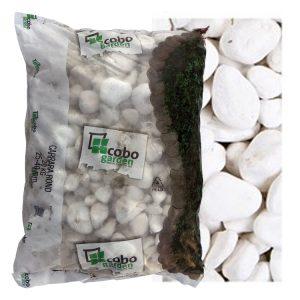 Siergrind Carrara Wit (25-40mm) zak (20kg) WOODcom